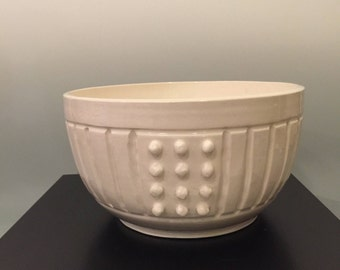 White ware hand carved Bowl