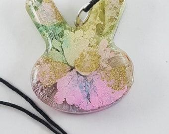 Spring Bunny Necklace