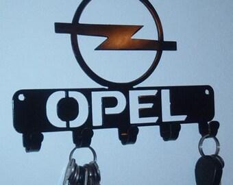 Key Rack Opel Metal Art