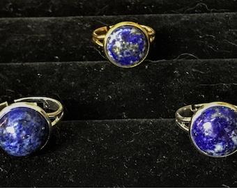 12mm Lapis Rings