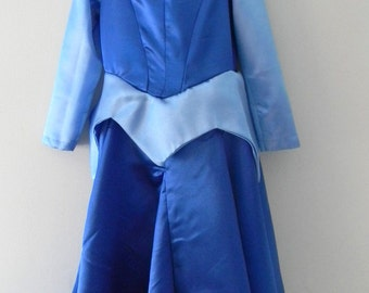 Sleeping Beauty Aurora Dress Costume in blue