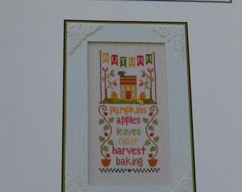 Autumn Seasonal Celebrations from Country Cottage Needleworks