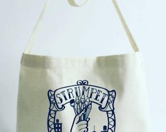 Strumpet Musette Bag in Cotton Canvas