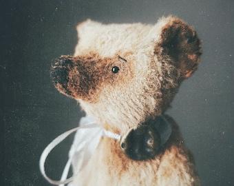 bear, teddy, teddy bear, art doll,Vintage teddy bear,Cute bear, handmade toy,Stuffed bear,Handmade,Cute toy, Vintage style,Collection teddy