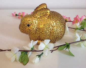 Sequin easter rabbit