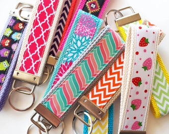 35 KEY FOBS Bulk Gift Idea - Employee Appreciation Gift - Teacher Appreciation - Womens Key Fob- Womens Gift for Her- Employee Gift Under 10