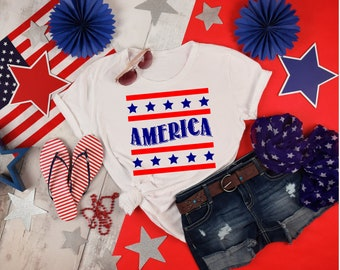 America - Fourth of July, Indepence Day, Patriotic shirt