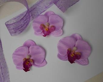 Artificial Purple Orchid 6.50 cm
