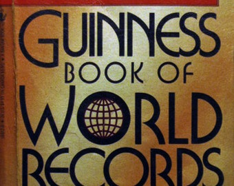 """Guinness Book of World Records """"Giant 1988 Revised Edition"""""""