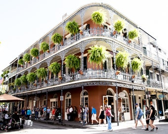 Fine Art Photography Print New Orleans Louisiana Historic District French Quarter Architecture