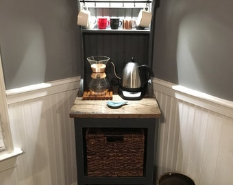 Eddie 1 Lighted Coffee Bar - SHIPS IMMEDIATELY !!