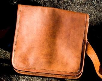 Leather Shoulder Bag, Leather handbag,  Messenger bag, Cross-body bag