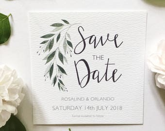 Rosalind Save the Date