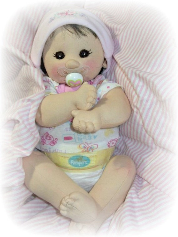 Cloth doll Kit and PDF pattern