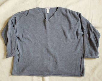 100% Cotton Grey Sweater