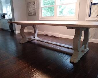 The Noah - Antique Reclaimed Barn Oak Dining Table