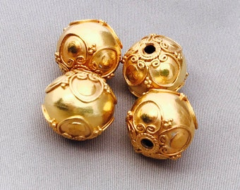 Gold Bali Bead BG 212