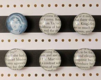 Magnets | Jane Austen - Emma | Set of 6