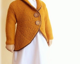 Knitting Jacket For Girl : Hand knit sweaters for women men kids and baby by pilland
