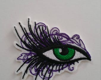 Eye iron on or sew on patch Eye iron on patch Eye sew on patch Eye patch Iron on patch Patch eye iron on Eye iron on applique Eye applique