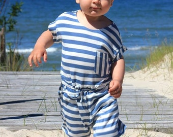 Summer outfit baby - Summer romper boy - Baby playsuit - Baby beach clothes - Baby boy playsuit - Shorts overall boys - Short overall baby