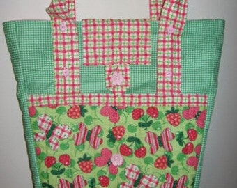 Expandable Tote Purse Mailed Paper Pattern by Sew Practical, Mom and Pop Craft