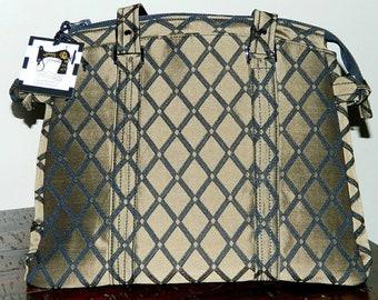 Onyx Satchel Handbag