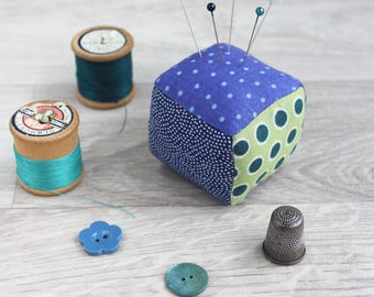 Gift for her, pin cushion, pincushion, gift for mum, gift for wife, birthday gift, handmade, needle minder, sewing, embroidery,