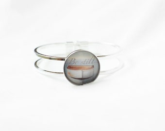 Calming Bracelet - Stress Relief Gifts - Anxiety Aid - Self Care Gifts - Treat Yo Self - Breathe Bracelet - Exhale - Inhale Exhale -
