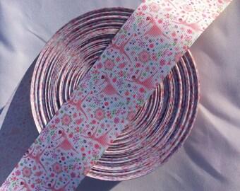 Ballet Ribbon, Dance Ribbon, Dance Hair Bows,  2 inch wide Ribbon Ballet Dancer, Dance Bows, Grosgrain Ribbon