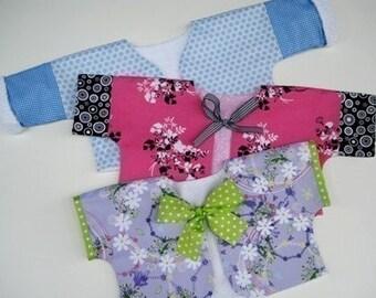 SALE - PDF e-Pattern - Reversible Short Jacket Sewing Pattern for Babies