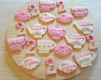 Tea Party Sugar Cookies