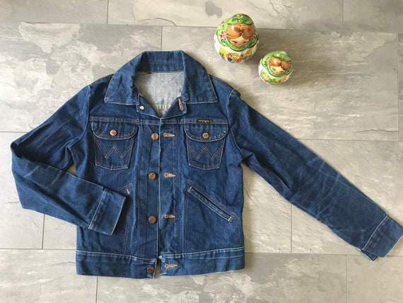 Vintage Wrangler jeans jacket | Vintage jacket | Wrangler kids jacket | Vintage kids | Eighties jacket | EUR 158/164 US 12/14 UK