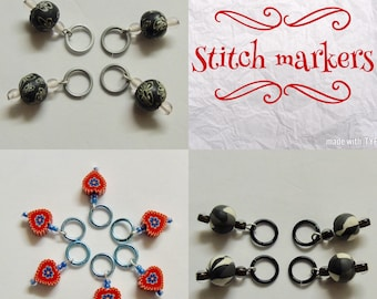 Stitch markers. Crochet markers.