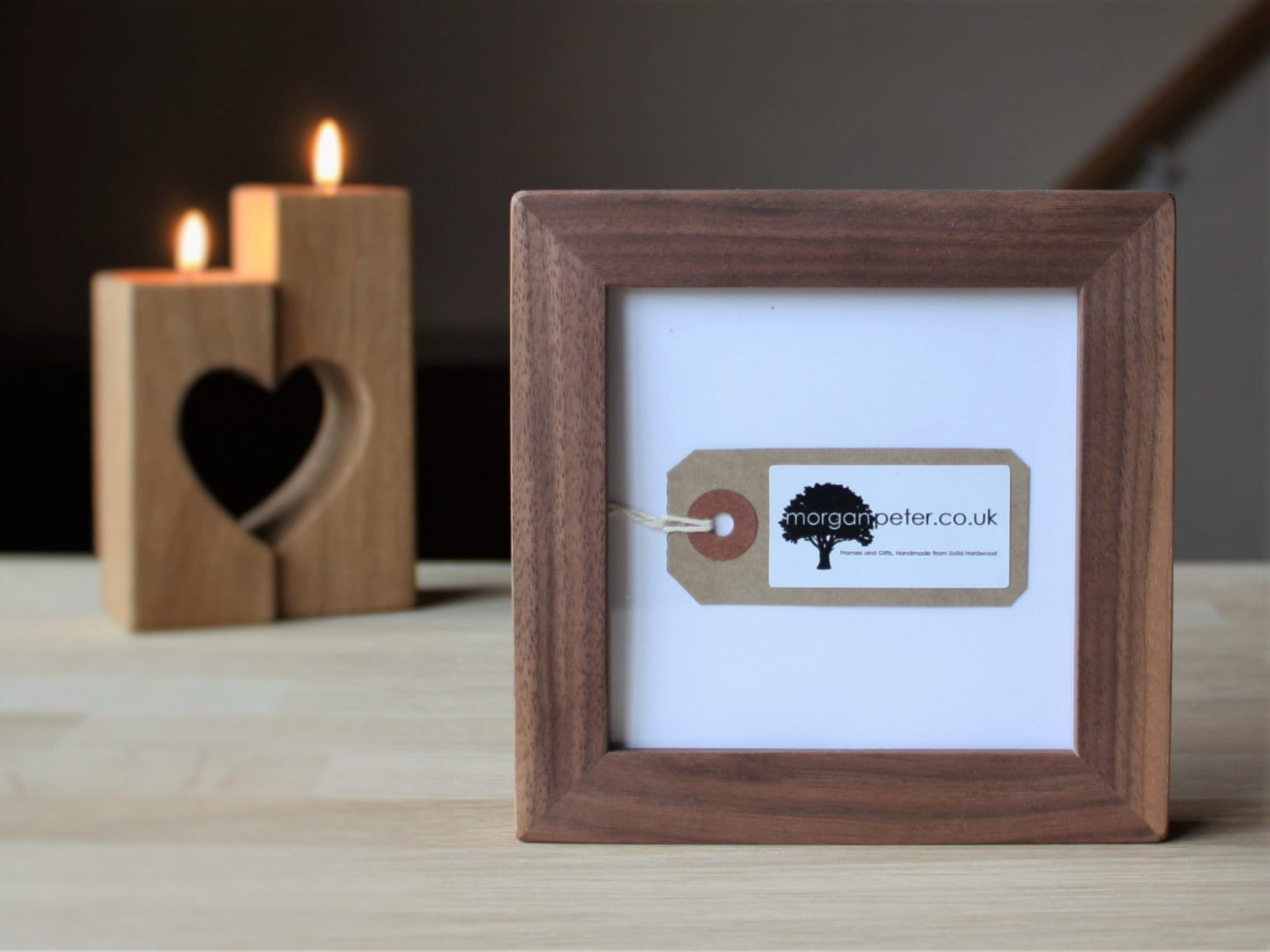 4x4 walnut frame wooden picture frame 4x4 square wooden zoom jeuxipadfo Images