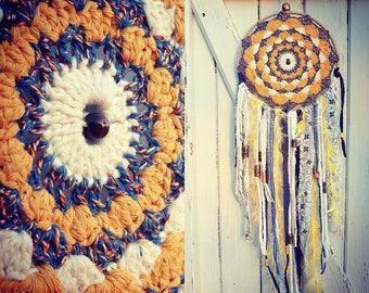 DreamCatcher Dream catcher / Dreamcatcher, mandala crochet /decor boho Bohemian