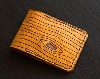 Leather card wallet / card holder
