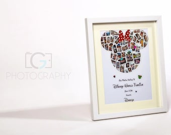 Disney Mickey Mouse Photo Collage Print/Canvas)