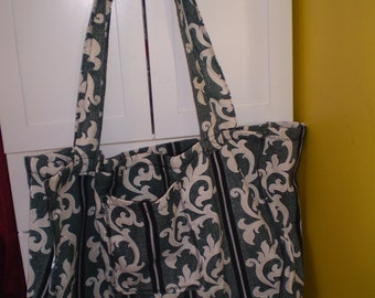Large shopping bag, antique design