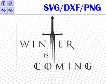 got winter is coming jb svg,dxf,png/got winter is coming jb  clipart