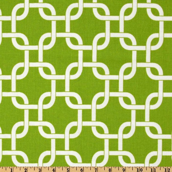 Green Decorative Pillow Covers Green Gotcha Chain Link