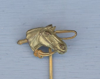 Antique Horse Stick Pin Finding