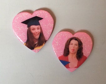 RORY & LORELAI pin pack // gilmore girls