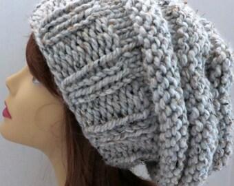 PDF 108 Beehive Hat Pattern Knitting  Women Hat Slouchy Hat Slouch Hand Knit Beehive Mini-Slouch Winter Bulky