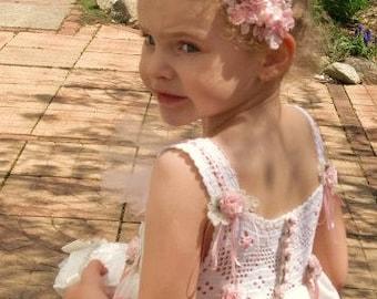Flower Girl Dress, Little Girl's Dress, Girl's Party Dress, Communion Dress, Wedding Party SIZE 3