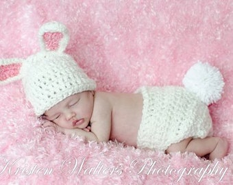 CROCHET PATTERN - Bunny hat with Permission to sell finished items