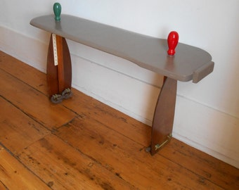 A nautical bench or table