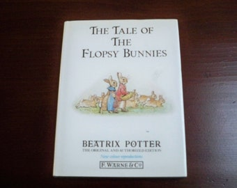 "Vintage Books Children Beatrix Potter Book ""The Tale of the Flopsy Bunnies"""