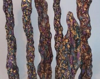 Chlorophytes, sculpture wood by Corkjewelery