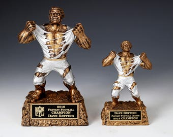 Monster VICTORY Award, NOW in TWO Sizes!, Custom Engraved